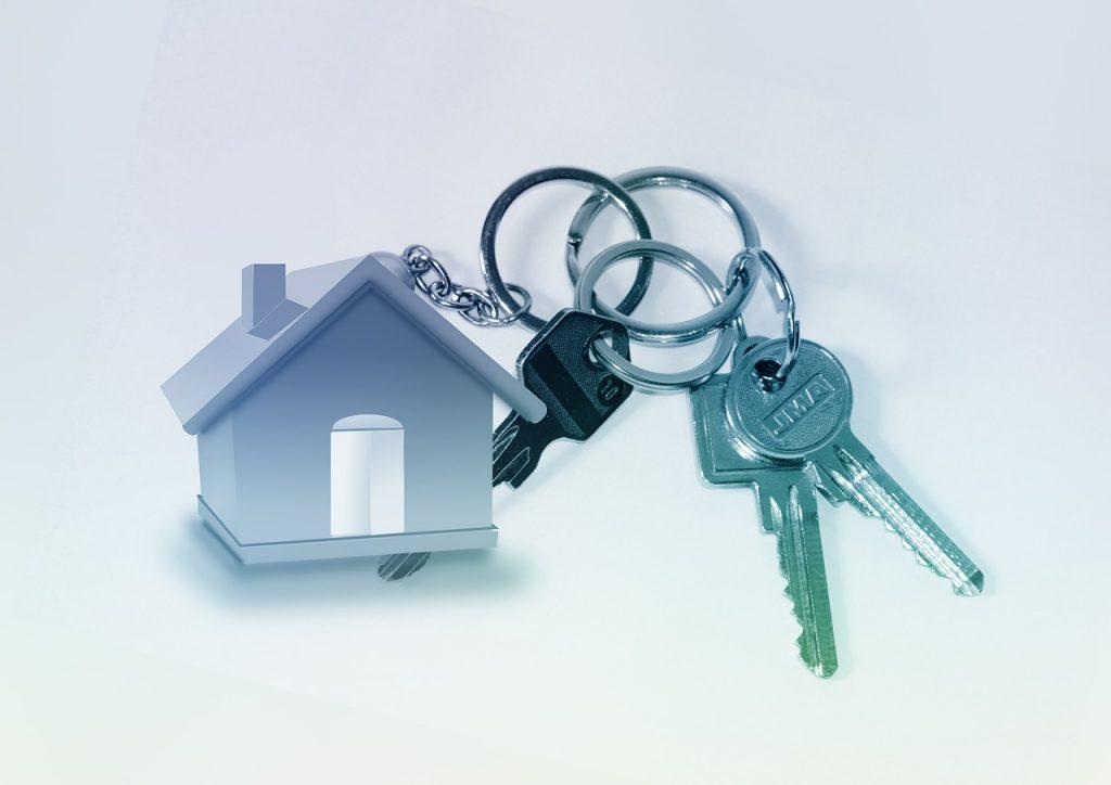 home, key, keychain